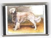 GOLDERN RETRIEVER LARGE FRIDGE MAGNET 1